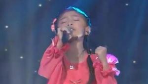 ¡Tiene sólo 5 años, pero cuando empezó a cantar todos se sorprendieron!