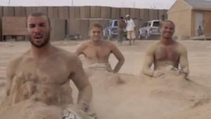 Unos soldados estadounidenses grabaron su propia versión del videoclip de Call M