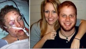 Hace 3 años su ex novio casi la mata. Ahora el médico cuál la salvó, tiene una g