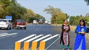 En esta carretera suceden tantos accidentes que dos mujeres decidieron pintar ES
