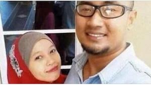 Una pareja quiso tener un selfie. Lo que vieron en la foto ASUSTA.