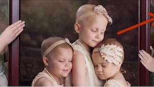 Hizo una foto a niñas que sufren cáncer. Lo qué pasó 2 años más tarde, conmueve