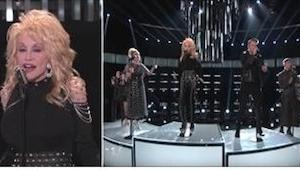 La última versión de la canción más exitosa de Dolly Parton en el programa  The