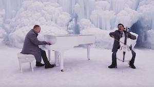 Interpretaron El Invierno de Vivaldi y Let it go de Frozen: El reino del hielo.