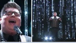 El ganador del programa americano The Voice volvió con una interpetación bellísi