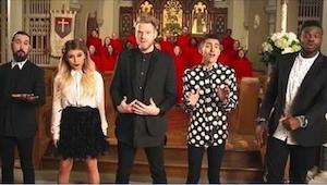¡Más de un millón de visitas en una hora: la última canción navideña de Pentaton