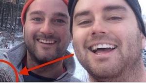 ¡Dos hermanos de Canadá se tomaron la selfie del año!¡Cuando veas a su acompaña