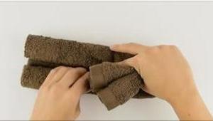 ¡Lo que hizo de una toalla es un sueño de cualquier niño!