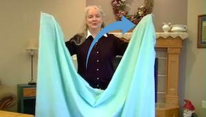 Aprende cómo doblar una sábana en un abrir y cerrar de ojos. ¿Por qué no lo sabí