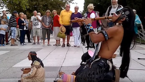 El último mohicano: ¡esta actuación os conmoverá!