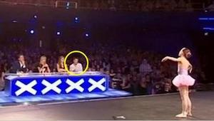 ¡Los miembros del jurado iban a interrumpir su actuación, pero fue cuando ella h
