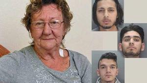 Una  mujer de 77 años iba a sacar dinero del cajero automático cuando 3 hombres
