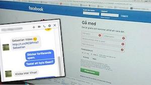 La policía advierte: ¡un nuevo virus en Facebook puede atacar tu ordenador!