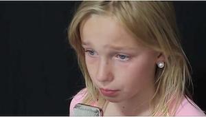 Esta niña de 11 años escribió su propia canción. Después de 7 segundos ya he ent